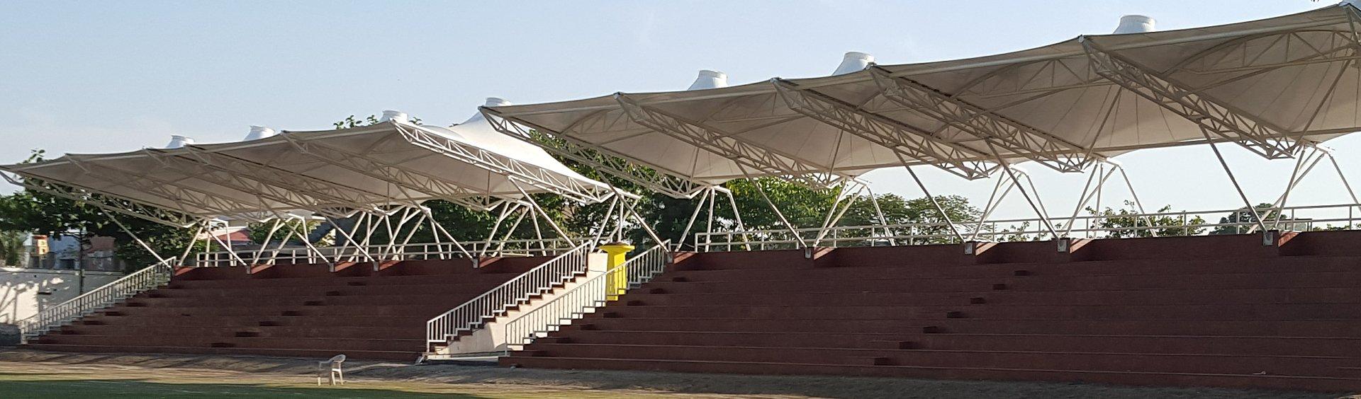 Tensile Membrane Structures Tensile Membrane Roof Installation u0026 Solutions Mumbai India - Aakruti Tenso Structures u0026 Facades Pvt. Ltd. & Tensile Membrane Structures Tensile Membrane Roof Installation ... memphite.com